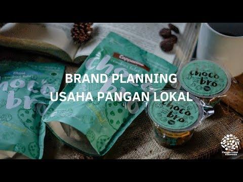 brand planning pangan lokal