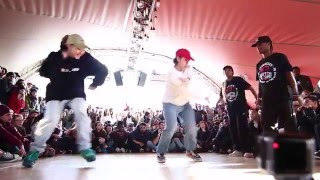 Juste Debout Paris 2016 | Hip Hop | Kyoka & Maika vs Anissa & Fabreezy | Top 32 battles
