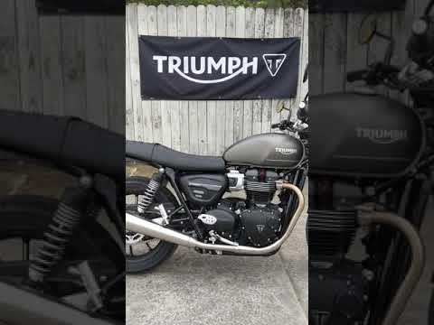 2022 Triumph Street Twin in Charleston, South Carolina - Video 1