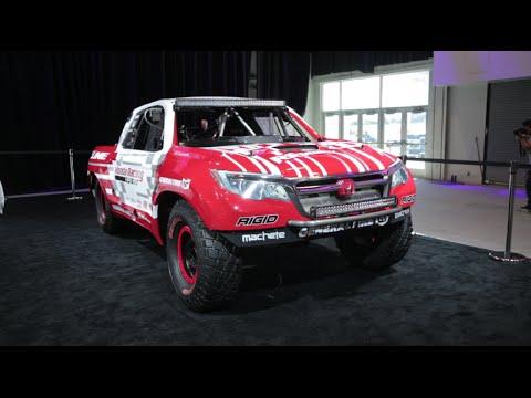 2016 Honda Ridgeline Baja Race Truck - 2015 SEMA Show