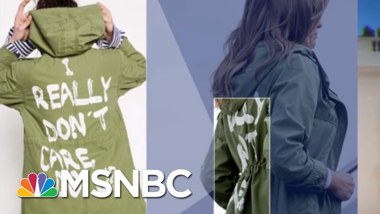 Melania's Jacket Is The New Yanny Vs. Laurel Debate | MTP Daily | MSNBC thumbnail