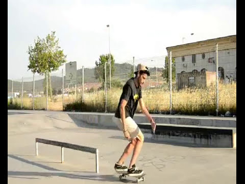 5 trucos en barra // 5 tricks in the rail- Alejandro Valiente