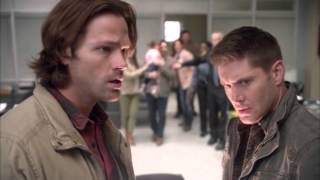 Supernatural 11 x 20 : Chuck / GOD : Singing & Reveals Himself!