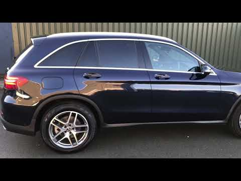 MERCEDES-BENZ GLC-CLASS 2.1 GLC 250 D 4MATIC AMG LINE 5DR AUTOMATIC