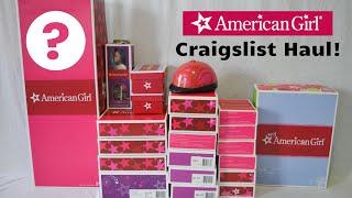 American Girl Doll Craigslist Haul!