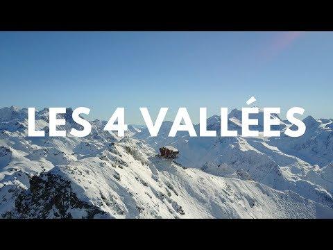 Les 4 Vallées, la plus grande station de ski de Suisse