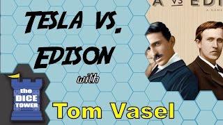 Tesla vs. Edison Review - with Tom Vasel