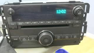 GM Radio VIN Clear & Power Testing on 1998-2010's Model Radios