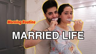 OUR MARRIED LIFE MORNING ROUTINE 😜 | That GlamGirl