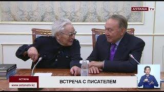 Н. Назарбаев встретился с народным писателем Казахстана Абдижамилом Нурпеисовым