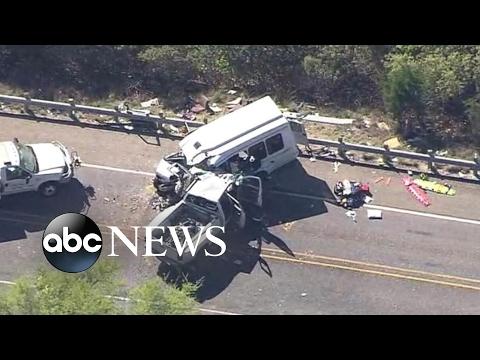 12 dead in Texas church bus crash