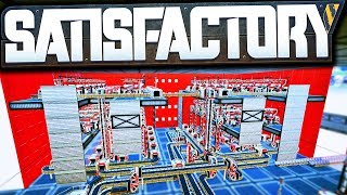 Satisfactory ~ᴍɪɴɪ~ BEAST! (1,800 Quartz /min) - Satisfactory Early Access Gameplay Ep 59