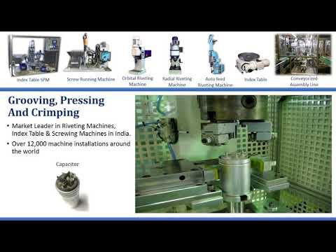 Capacitor Grooving machine