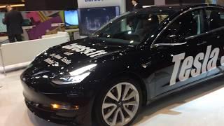 Genève 2018 : Tesla Model 3