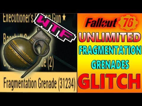 Fallout 76 - NEW UNLIMITED / Grenade XP Glitch! After Patch (In