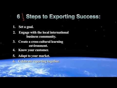 Steps to Exporting Success