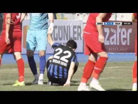 B.B Erzurumspor 2 - 1 Silivrispor - Geniş  Maç Özeti