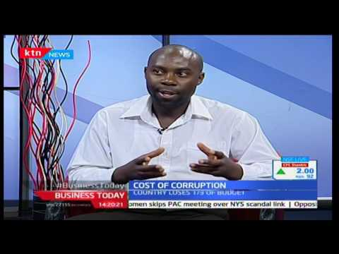 Business Today: Cost of Corruption with counties hardest hit by corruption scandals 8/12/2016