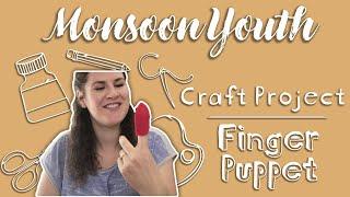Craft Project - Making A Felt Finger Puppet