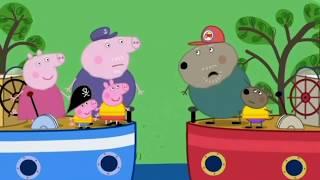Prasátko Peppa S01E48 DĚDEČKOVA LOĎ