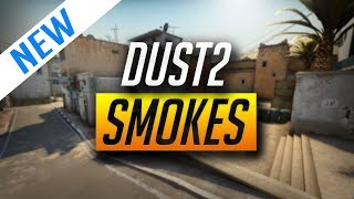 BEST DUST 2 SMOKES FOR 2018 (CSGO)
