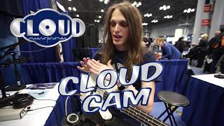 Cloud Cam! Musician Reacts to Cloudlifter Zi at AES show!