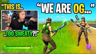 I played Fortnite at 4:34AM and met the sweatiest RENEGADE RAIDER... (super sweaty)