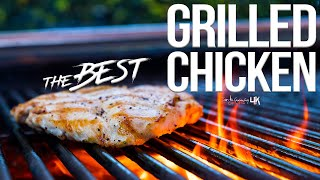 The Best Grilled Chicken Breast | SAM THE COOKING GUY 4K