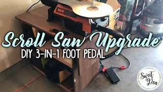 DIY 3-in-1 Foot Pedal: Easy Scroll Saw Upgrade