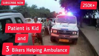 Helping | Ambulance in emergency, Stuck in Noida traffic #Noida #traffic #ambulances #stuck Live