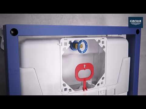 Grohe Solido - Sada pro závěsné WC + klozet a softclose sedátko 39186000 38528SET-KH
