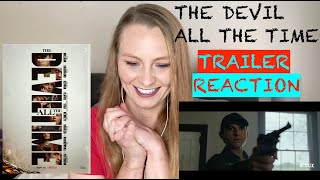 The Devil All The Time Official Netflix Trailer REACTION