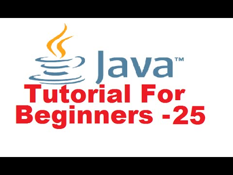 Java Tutorial For Beginners 25 – Inheritance in Java