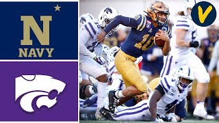 #23 Navy vs Kansas State Highlights |  2019 Liberty Bowl Highlights | College Football