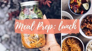 5 EASY & CHEAP DIY HEALTHY LUNCHES FOR SCHOOL OR WORK!