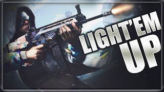 LIGHT'EM UP || PUBG MOBILE LIVE WITH TEAM R3D || LOCKDOWN INITIATED