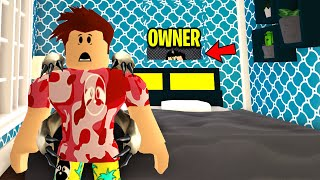 HOTEL OWNER Was WATCHING GUESTS.. I Exposed Him! (Roblox)
