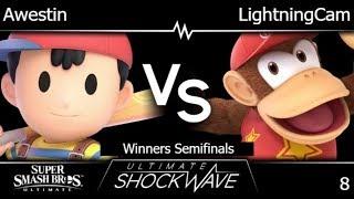USW 8 - TLOC | Awestin (Ness) vs LightningCam (Diddy) Winners Semifinals - SSBU