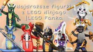 Najdroższe minifigurki LEGO Ninjago |LEGO Fanka
