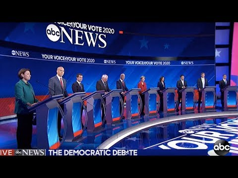 3rd Democratic Debate: Education, Inequality, and Racism (2/3)