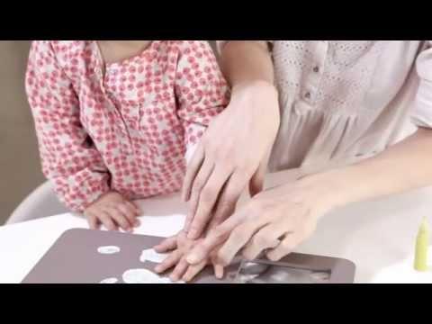 Baby Art Шкатулка с сокровищами для новорожденного Video #1