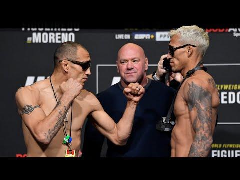 Les face à face de l'UFC 256