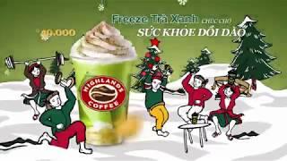 HIGHLANDS COFFEE - FREEZE TRÀ XANH
