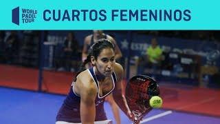 Resumen Cuartos Femeninos Logroño Open 2019 (segundo Turno) | World Padel Tour