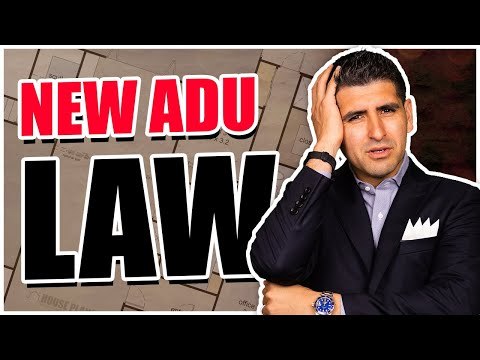 The New ADU Law - Southern California Real Estate Agent