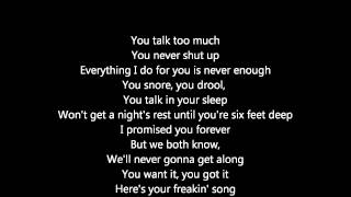 bowling for soup Here's Your Freakin' Song  LYRICS