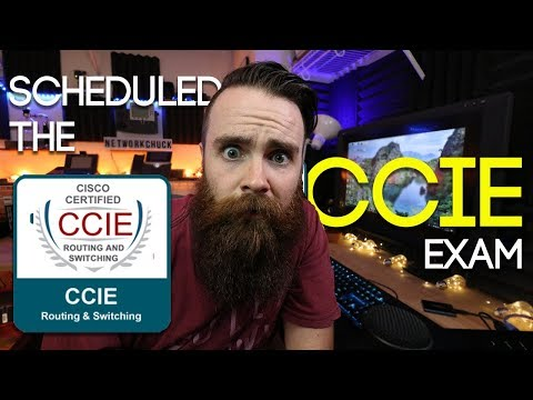 SCHEDULED THE CCIE EXAM!! - YouTube