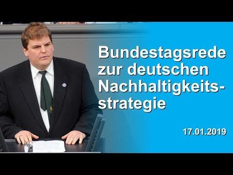 Dr. Rainer Kraft: Bundestagsrede zur deutschen Nachhaltigkeitsstrategie