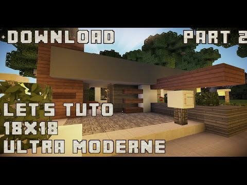 18x18 ultra modern house Minecraft Project