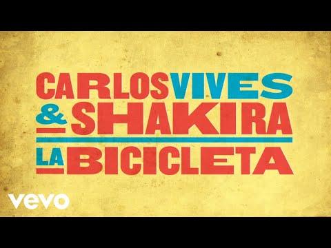 La Bicicleta (Audio) - Shakira (Video)